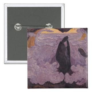 La onda violeta, c.1895-6 chapa cuadrada 5 cm