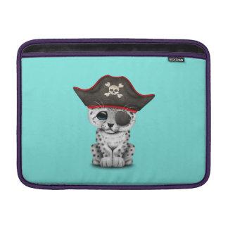 La onza linda Cub del bebé piratea Funda Para MacBook Air