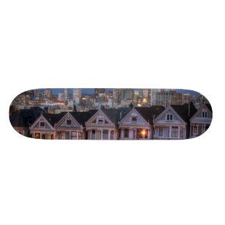 """La opinión de la noche """"pintó de las casas de las  monopatín 18,7 cm"""