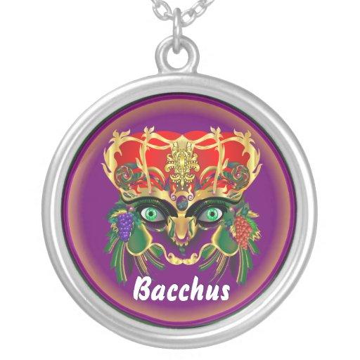 La opinión del Bacchus de la mitología del carnava Collar