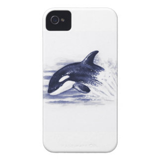 La orca del bebé salta funda para iPhone 4 de Case-Mate