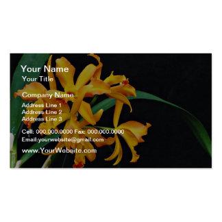 La orquídea Laela, el cattleya, el truco o la invi Tarjetas De Visita