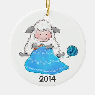 La oveja de Lucy Crochets el ornamento del navidad Ornamentos De Reyes Magos
