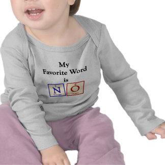 La palabra preferida no es NINGUNA - manga larga d Camisetas