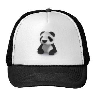 la panda 3d se sienta gorro