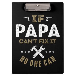 La papá puede fijarlo carpeta de pinza