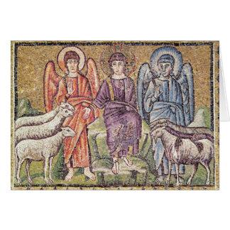 La parábola del buen pastor tarjetón