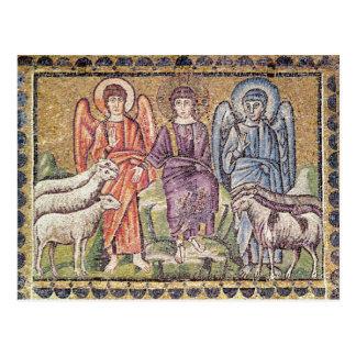 La parábola del buen pastor postal