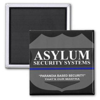 La paranoia basó seguridad imán