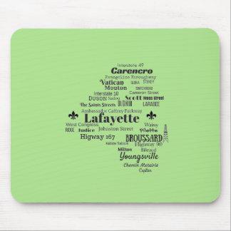 La parroquia de Lafayette Luisiana coloca el cojín Alfombrilla De Ratón