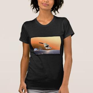 la parte negativa camiseta