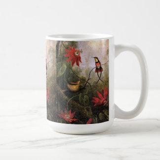 La pasión de los pájaros del colibrí de Heade Taza De Café
