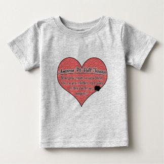 La pata americana de Terrier de pitbull imprime Camisas
