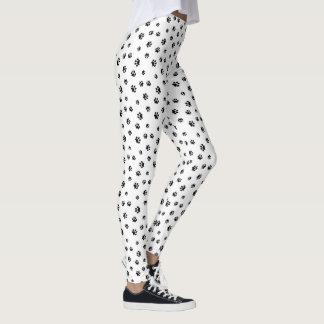 La pata negra imprime el modelo leggings
