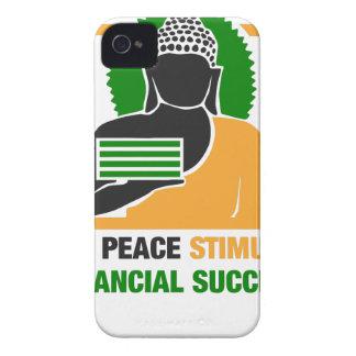 La paz interna estimula éxito financiero carcasa para iPhone 4 de Case-Mate