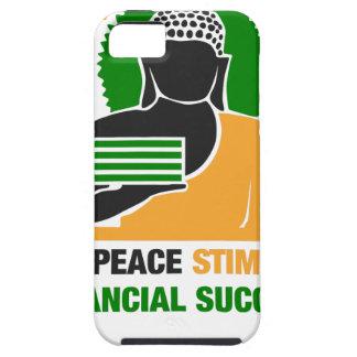 La paz interna estimula éxito financiero funda para iPhone SE/5/5s