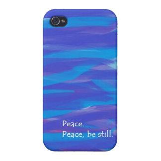 La paz, todavía esté iPhone 4 carcasa