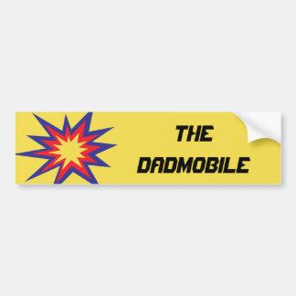 La pegatina para el parachoques de DADmobile