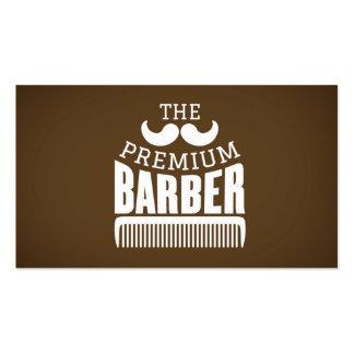 La peluquería de caballeros de los caballeros tarjetas de visita