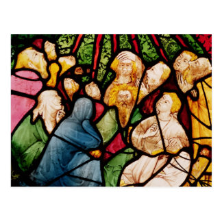 La pendiente del Espíritu Santo, c.1400 Postal