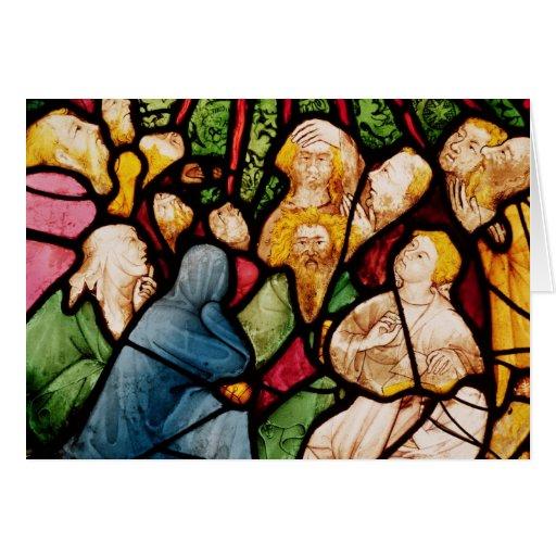 La pendiente del Espíritu Santo, c.1400 Tarjetas