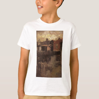 La pequeña casa roja por la marmota de James Camisetas