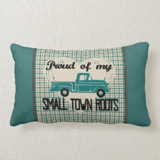 La pequeña ciudad arraiga la almohada lumbar (la