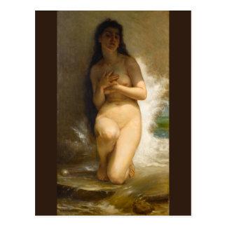La perla de William-Adolphe Bouguereau Postal