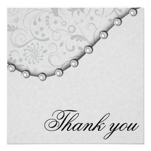 La perla del boda le agradece comunicados personales