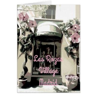 La Perla en las Rozas Village de Madrid (España) Tarjeta De Felicitación
