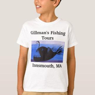La pesca de Innsmouth viaja al camisetas