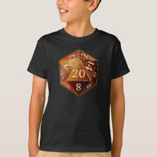La piedra arenisca y el moreno SÁHARA del D&D d20 Camiseta