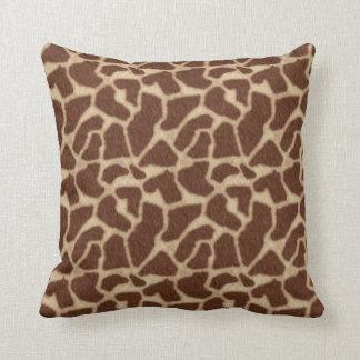 La piel de la jirafa mancha 2 cojín