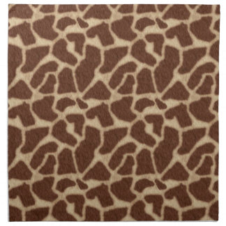 La piel de la jirafa mancha 2 servilletas