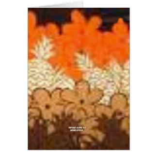 La piña coloca (la impresión de la hawaiana del vi tarjeta de felicitación