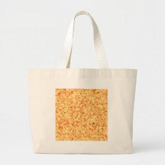 La pintada de oro del confeti de la plantilla DIY Bolsas De Mano