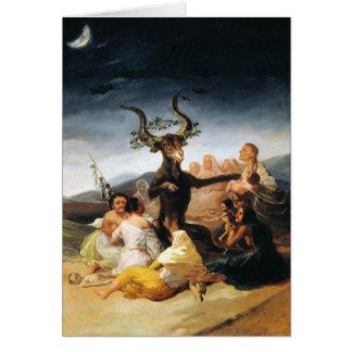La pintura de la obra maestra de Francisco José de Tarjeta Pequeña