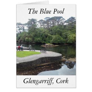 La piscina azul, Glengarriff, corcho Tarjeta De Felicitación