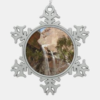 La piscina esmeralda cae I del parque nacional de Adorno De Peltre Tipo Copo De Nieve