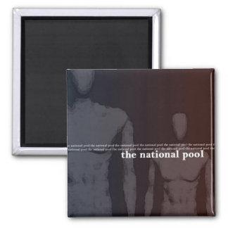 La piscina nacional - imán Uno mismo-Titulado del