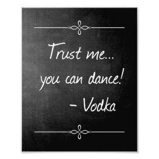 La pizarra confía en que usted puede bailar el cojinete