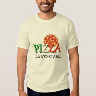 La pizza es una verdura camisas