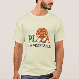 La pizza es una verdura camiseta