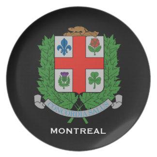 La placa de colector de Montreal* Platos De Comidas