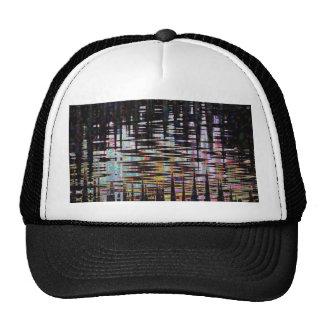 La plantilla abstracta de lujo de la impresión de gorra