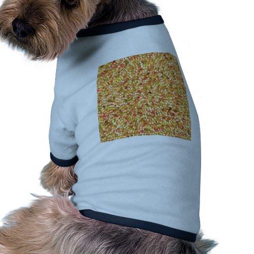 La plantilla artística DIY del confeti añade los Camisa De Mascota