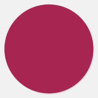 La plantilla de DIY corrige colores que la forma Pegatina Redonda