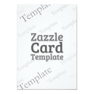 La plantilla de encargo de la tarjeta de Zazzle Invitación 8,9 X 12,7 Cm