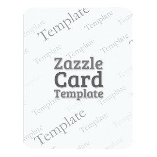 La plantilla de encargo de la tarjeta de Zazzle Invitación 10,8 X 13,9 Cm