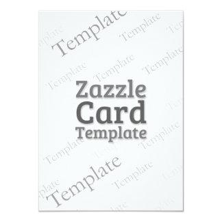 La plantilla de encargo de la tarjeta de Zazzle Invitación 11,4 X 15,8 Cm